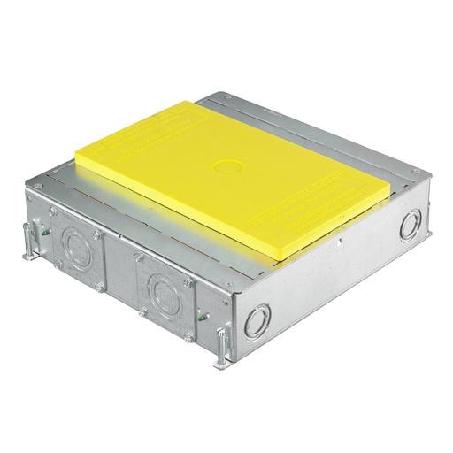 "Mayer-4-Gang CFB Series Box for Rectangular Covers, 3.00"" Minimum Depth of Pour-1"