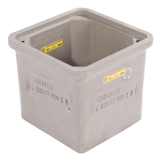 "Mayer-Box, polymer concrete, 12""x12""x12"", Straigth Wall, Open Bottom-1"