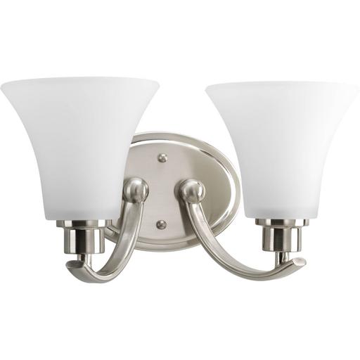 Mayer-Two-Light Brushed Nickel Bath Light-1