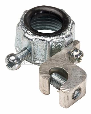 "Mayer-1-1/2"" Insulated Malleable Iron Metallic Grounding Bushings-1"