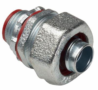 "Mayer-1/2"" Straight Liquidtight Connector with Insulated Throat-1"