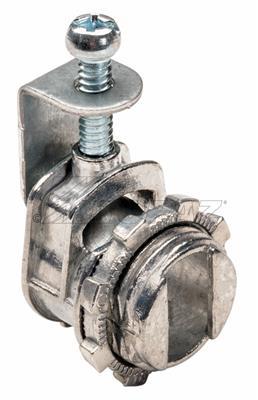 """Mayer-3/8"""" BX-Flex, NM & MC Saddle Type Cable Connector-1"""