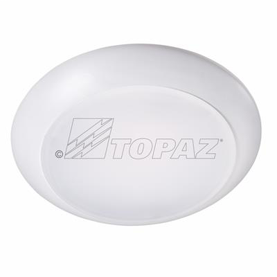 """Mayer-6"""" LED Surface Mount Disk Light, 15W, Dimmable, White, 3000K-1"""