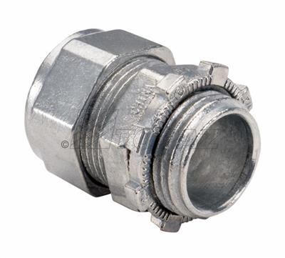 "Mayer-1/2"" Zinc Die Cast Compression Type Connector-1"