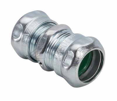 "Mayer-1-1/4"" Steel Compression Type Raintight Coupling-1"
