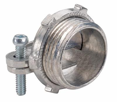 Topaz Corp 956 2 Inch Die-Cast Zinc Oval NMSC Connector