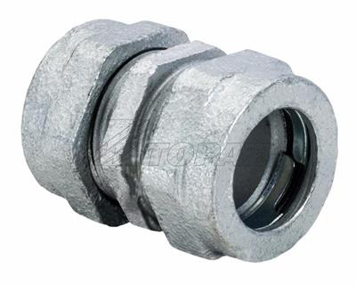 "Mayer-1-1/4"" Compression Type Malleable Iron Rigid Couplings-1"