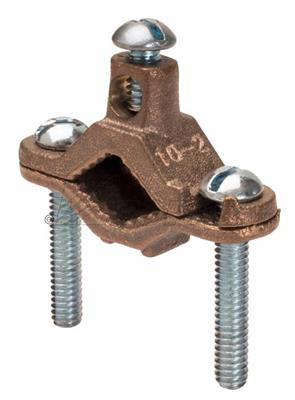 "Mayer-1/2"" - 1"" Bronze Ground Clamps for Bare Wire-1"