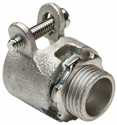 """Mayer-3/4"""" Straight Squeeze Type BX-Flex Connector-1"""