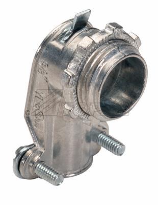 "Mayer-3/4"" 90° Squeeze Type BX-Flex Connector-1"