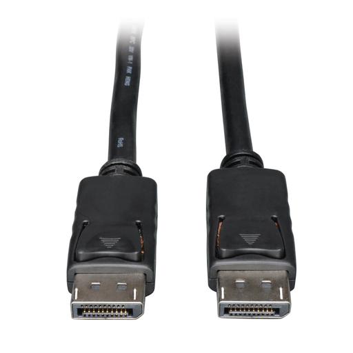 DisplayPort Cable with Latches, 4K @ 60 Hz, (M/M) 10 ft.