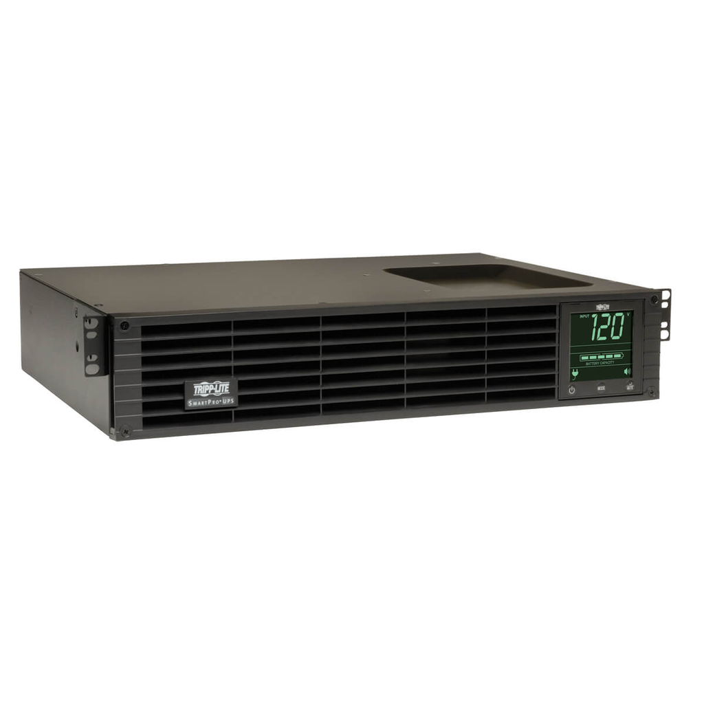 TRP SmartPro 120V 1.5kVA 1.35kW Line-Interactive Sine Wave UPS, 2U, Extended Run, Network Card Options, LCD, USB, DB9