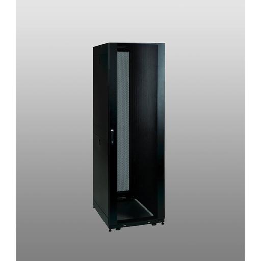 42U SmartRack Shallow-Depth Rack Enclosure Cabinet with doors & side panels