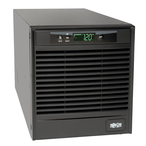 SmartOnline 120V 3kVA 2.7kW Double-Conversion UPS, Tower, Extended Run, Network Card Options, LCD, USB, DB9