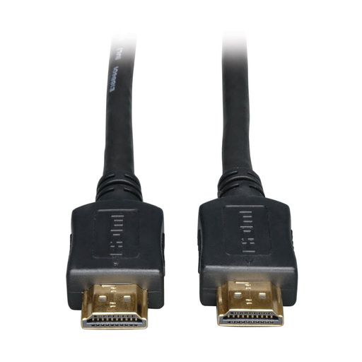 High Speed HDMI Cable, Digital Video with Audio, UHD 4K, (M/M), Black, 3 ft.