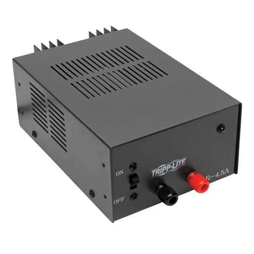 4.5-Amp DC Power Supply, 13.8VDC, Precision Regulated AC-to-DC Conversion