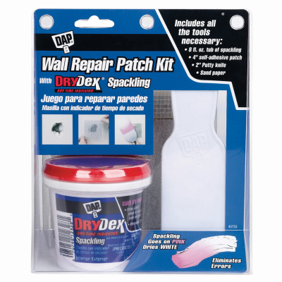TRU 12345 WALL DRYDEX SPACKLE KIT DAP INC