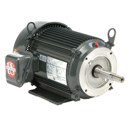 15 HP,3525 & 2900 RPM,UJ15P1DFM,208-230/460 & 190/380 V,60 & 50,215JM