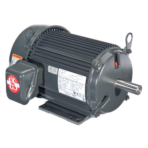 10 HP,1760 & 1445 RPM,U10P2D,208-230/460 & 190/380 V,60 & 50,215T