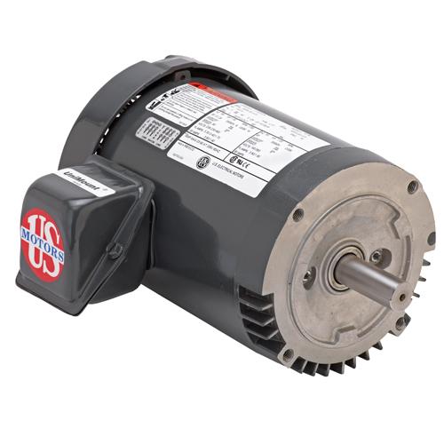3/4 HP,1755 & 1440 RPM,U34P2DCR,208-230/460 & 190/380 V,60 & 50,56C