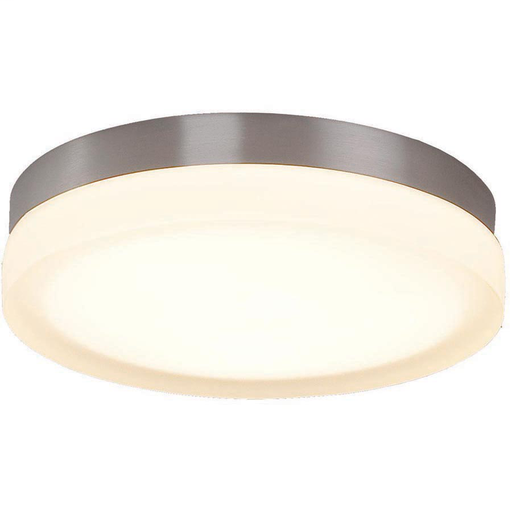"WAC FM-4109-30-BN BRUSHED NICKEL 9"" ROUND FLUSH WITH 23W 3000K LED"