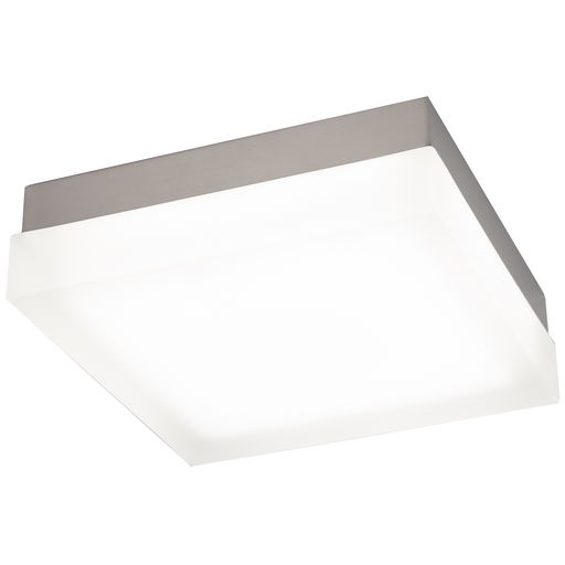 "WAC FM-4009-30-BN BRUSHED NICKEL 9"" SQUARE FLUSH WITH 24W 3000K LED"