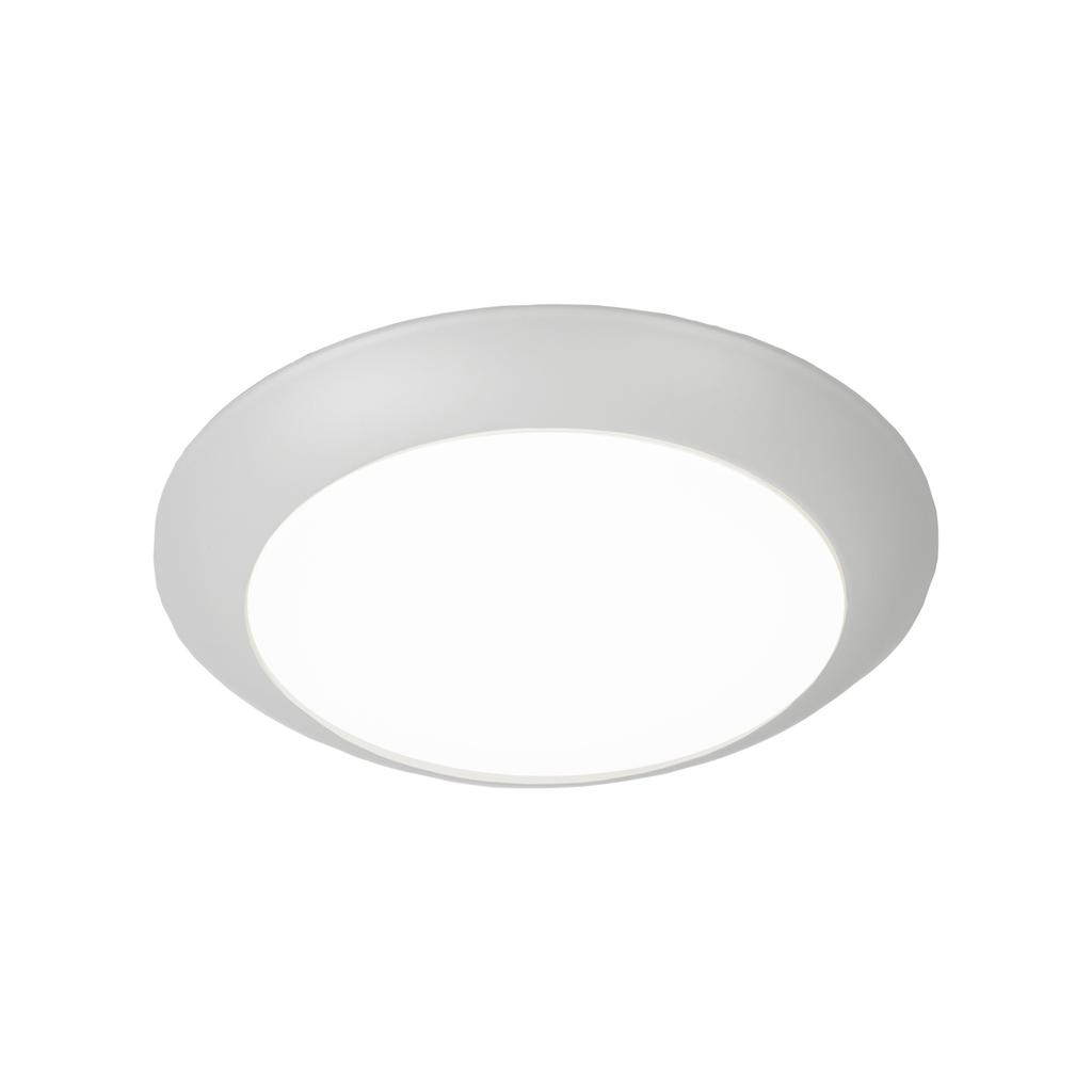 Disc Energy Star LED Flush Mount 3000K Soft White in White