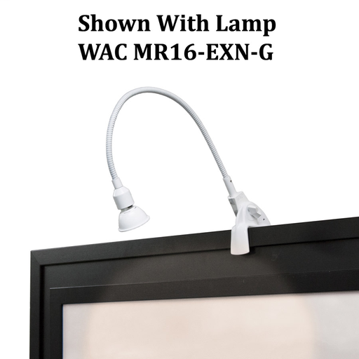 WAC DL-214-WT LOW VOLT DISPLAY LGT