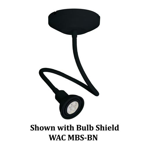 WAC ME-204LED-BK 8W W/M LT FX