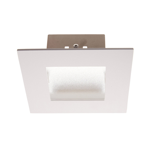 "WAC HR-LED471-WT LEDME 4"" SQUARE SHOWER LIGHT WHITE TRIM"