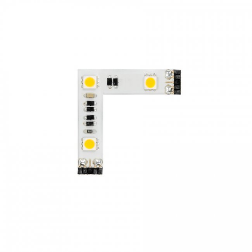 "WAC LED-T24P-3L-WT WHITE 1.2W 24V 3-LED ""L"" CONNECTOR INVISILED PRO 3000K"