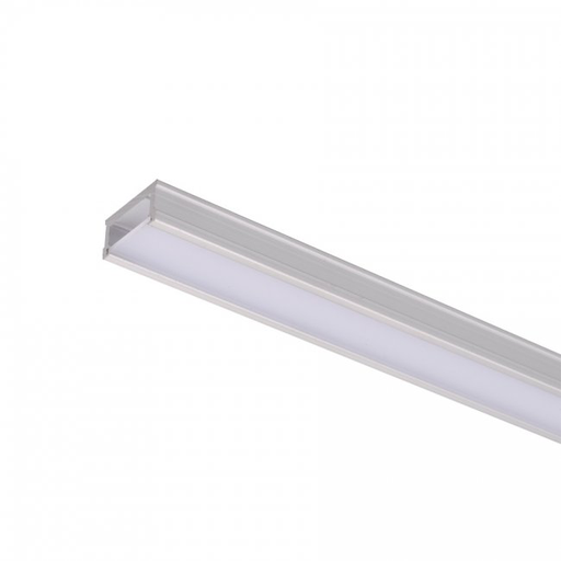 "WAC LED-T-CH RIGID ALUMINUM CHANNEL INVISLED 60"" LENGTH ACRYLIC ACRYLIC DIFFUSER"