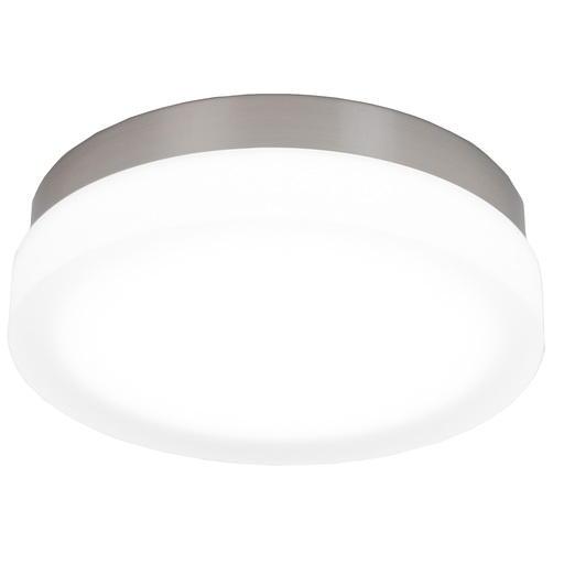 "WAC FM-4111-30-BN BRUSHED NICKEL 11"" ROUND FLUSH WITH 28W 3000K LED"
