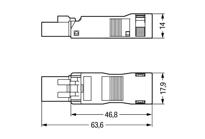 WAGO 890-133 Wire Connector
