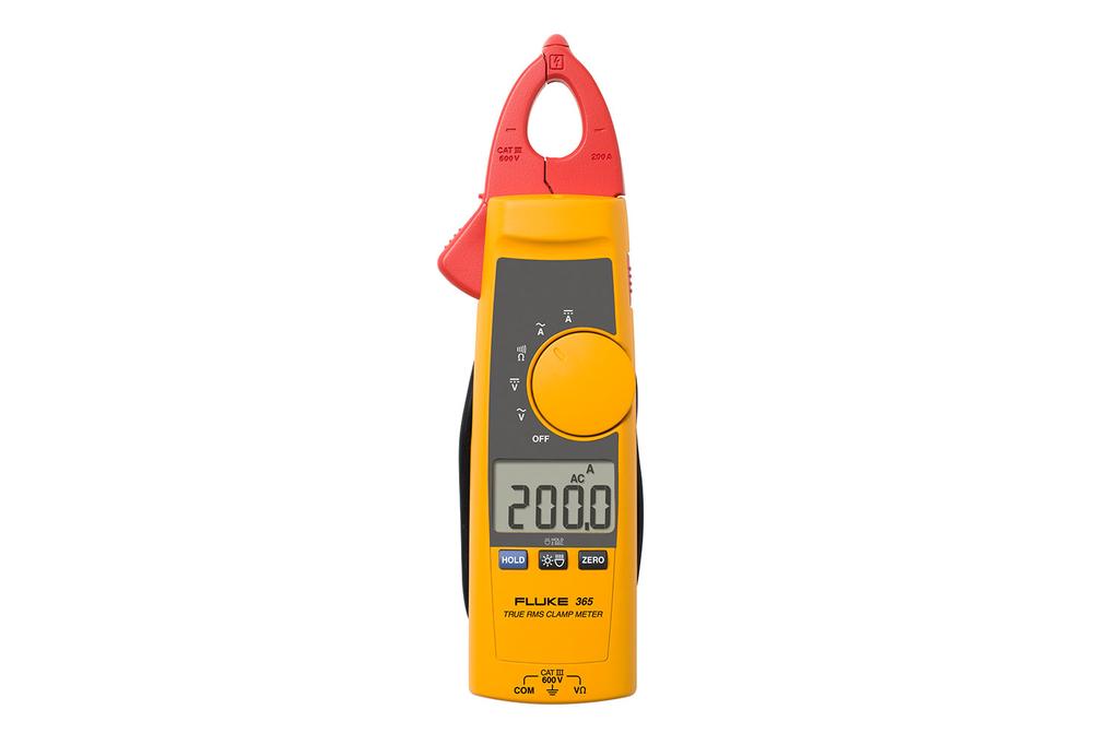 Fluke Electronics FLUKE-365 600 VAC/VDC 200 Amp AC/DC Clamp Meter