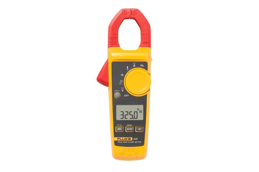 Fluke Electronics FLUKE-325 600 VAC/VDC 400 Amp AC Clamp Meter