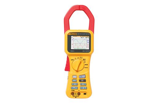 Fluke 345 Power Quality Clamp Meter - Electronic Power Meter Fluke 345
