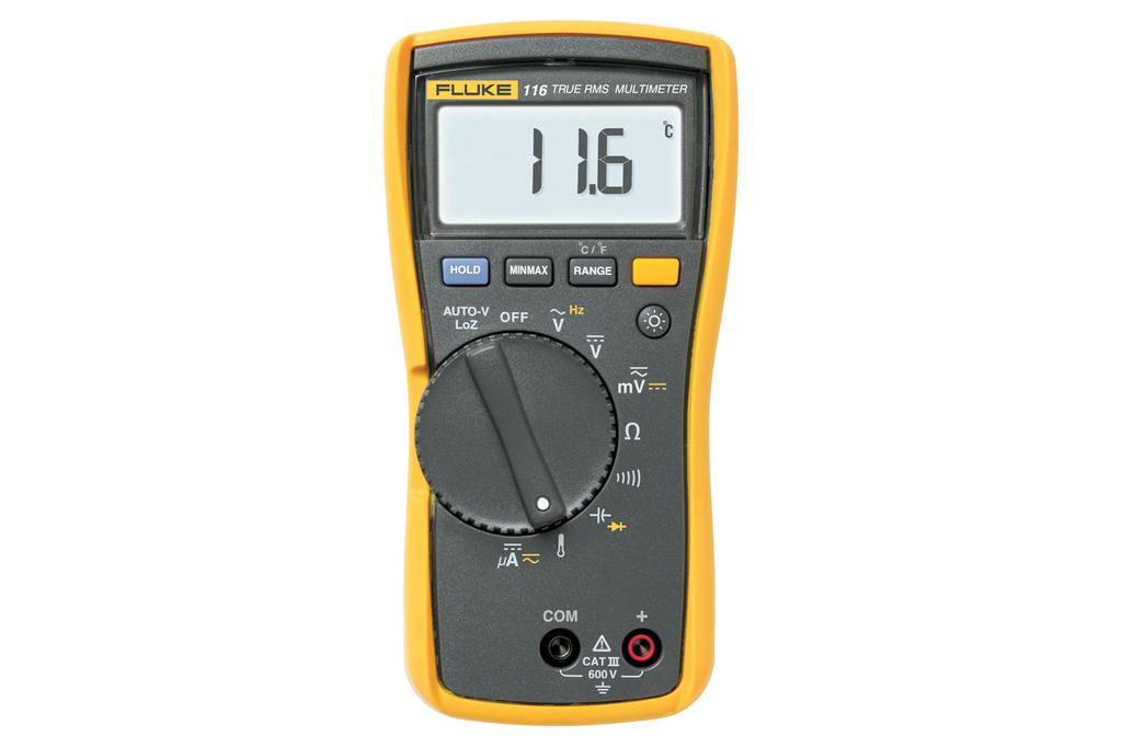 Fluke Electronics FLUKE-116 600 VAC/VDC Digital Multimeter