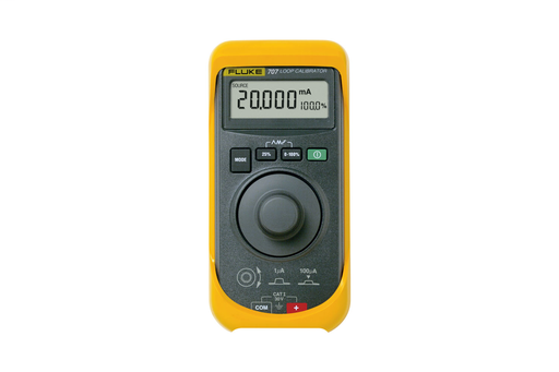 Fluke 707 Current Loop Calibrator with Quick Click Knob Fluke 707