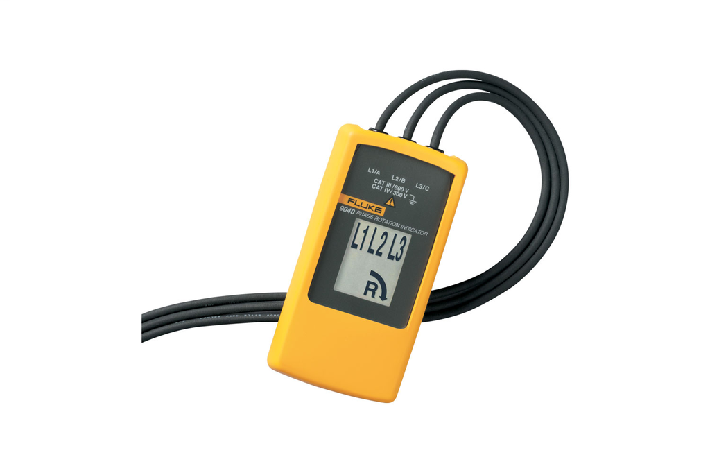 Fluke 9040 Phase Rotation Indicator Fluke 9040
