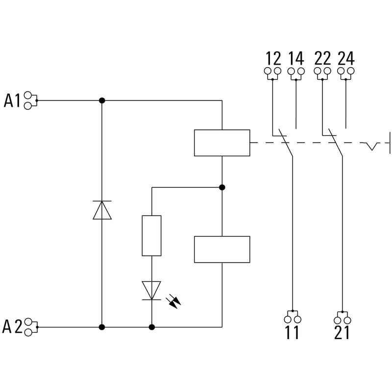 DRIKITP 24VDC 2CO LD/PB