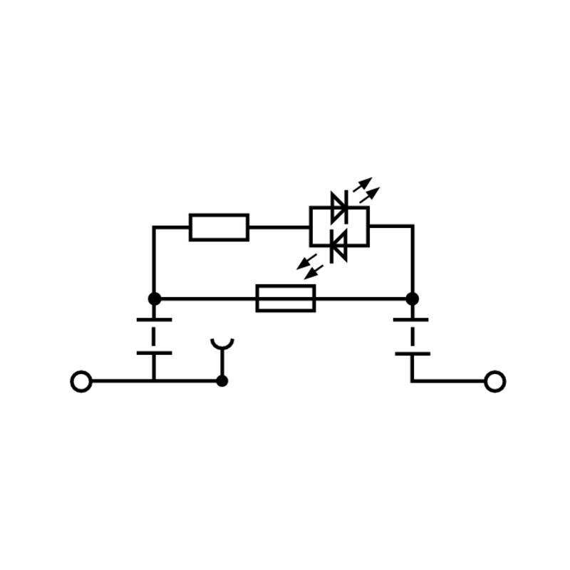 WSI 6/2/LD 250VAC/110VDC 1/4IN