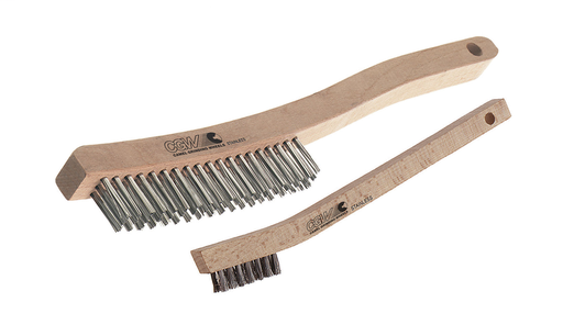 Scratch Brushes - Economy Shoe Handle Scratch Brush - Size 4 x 16 Rows