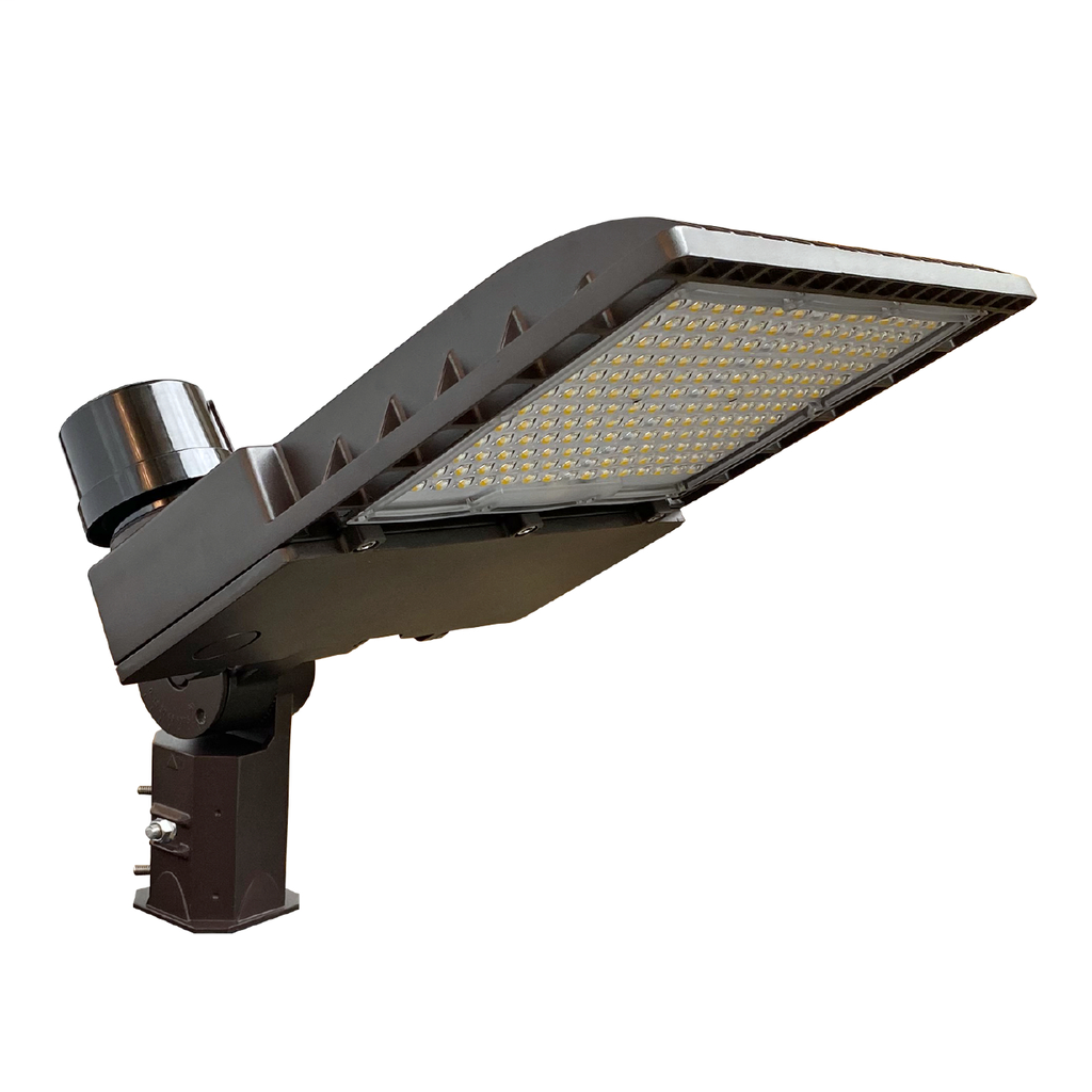 1,000W HID Equivalent, 10-Position Lumen Selectable Area Luminaire,Type 5 distribution,120-277V