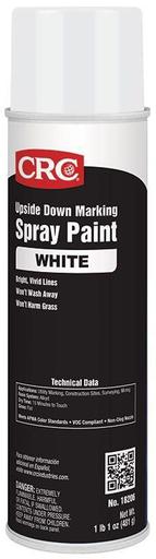 Mayer-Upside Down Marking Paints-White, 17 Wt Oz-1