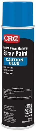 Upside Down Marking Paints-Caution Blue, 17 Wt Oz