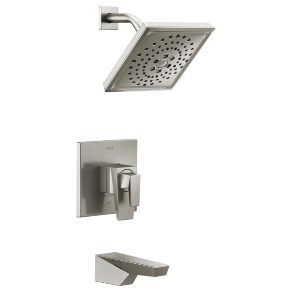 DELTA® T17443-SS Monitor® 17 Series Tub and Shower Trim, 1.75 gpm Shower, Brilliance® Stainless Steel