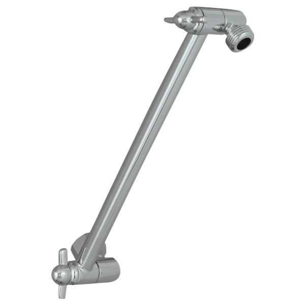DELTA® UA902-PK Adjustable Shower Arm, 18 in L, Import