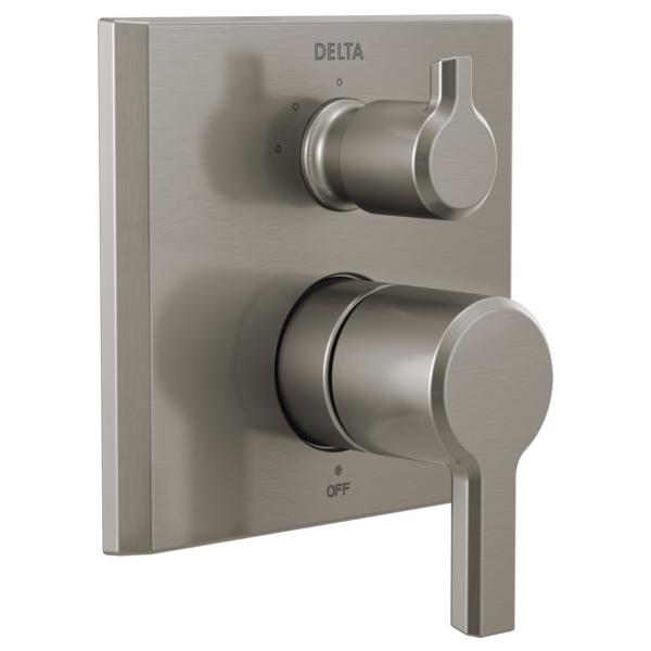 DELTA® T24899-SS Monitor® 14 3-Setting Diverter Valve Trim, Stainless Steel