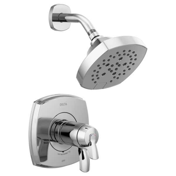 DELTA® T17T276 17T Volume Control Shower Only, 1.75 gpm Shower, Polished Chrome